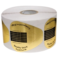 dl pro nail form - 500 pc double thick