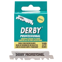 derby single edge razor blades - 100 pack