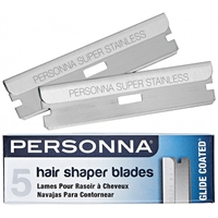 personna hair shaper blades - 5 pack