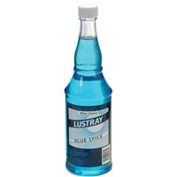 lustray blue spice after shave - 14 oz