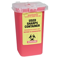 fantasea used sharps container - 1 liter