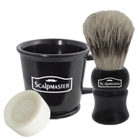scalpmaster barber shave set