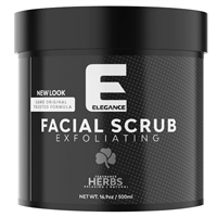 elegance facial scrub - mixed herbs 500ml