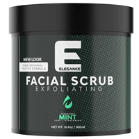 elegance facial scrub - mint 500ml
