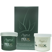 agave healing oil retex system permanent straightener kit