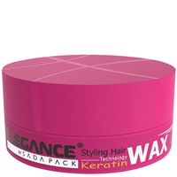 elegance hair styling wax - keratin technology 140gr