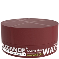 elegance hair styling wax avocado oil extract 140gr