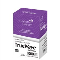 graham beauty true wave end papers - jumbo 1000 sheets