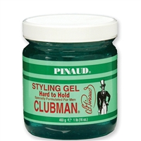 clubman pinaud hard to hold styling gel - 16 oz