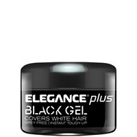 elegance plus black gel - 100ml