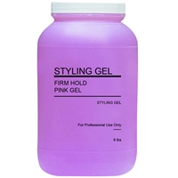 marianna styling gel - pink firm hold 8 lbs