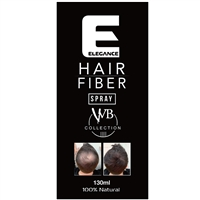 elegance hair fiber spray black 130ml