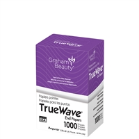 graham beauty true wave end papers - regular 1000 sheets