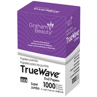 graham beauty true wave end papers - super jumbo 1000 sheets