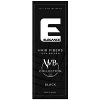 elegance hair fiber black 0.97 oz