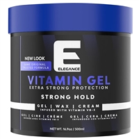 elegance extra strong hair gel - 500ml