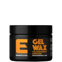 elegance transparent pomade gel wax - 250gr