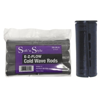 soft 'n style e-z-flow cold wave rods - jumbo black