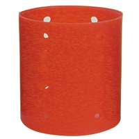 "soft 'n style jumbo magnetic rollers red 2-1/2"" diam. - 6/pk"