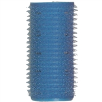 "soft 'n style 1"" blue self-holding grip rollers - 12/pk"