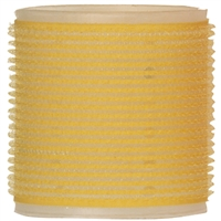 "soft 'n style 2-1/2"" yellow/white self-holding grip rollers - 3/pk"