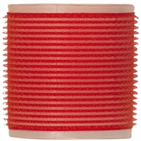 "soft 'n style 2-3/4"" red/white self-holding grip rollers - 3/pk"