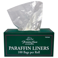 fantasea paraffin liners - 100 pack