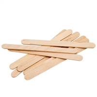 "graham beauty spa essentials 4.5"" wax applicators - 100 pack"
