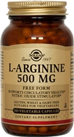 L-Arginine 500 mg 100 Vegetable Capsules