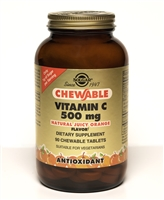 Vitamin C 500 mg 90 Chewable Tablets