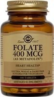 Folate 400 mcg (as Metafolin)