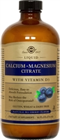 Calcium Magnesium Citrate with Vitamin D3 (Blueberry Flavor)
