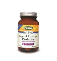 Udo's Choice Super 5 Probiotic, 60 lozenges