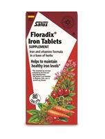 Floradix Iron Tablets 80 tablets