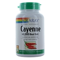 Cayenne 40000 Heat Unit-180 Cap
