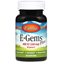 E Gems Plus 50 softgels