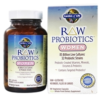 Raw Probiotics: Women 90 Vegetarian Caps