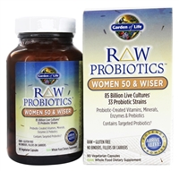Raw Probiotics® Women 50 & Wiser 90 Capsules