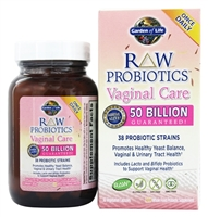 Raw Probiotics Vaginal Care 30 Caps