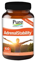 AdrenalEssence 60 Vegatable Capsules A Healthy Response to Stress