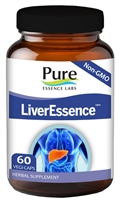 Pure Essence Labs - LiverEssence - 60 Capsules