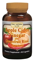 Apple Cider Vinegar Plus Grapefruit Rind Cayenne-90 caps