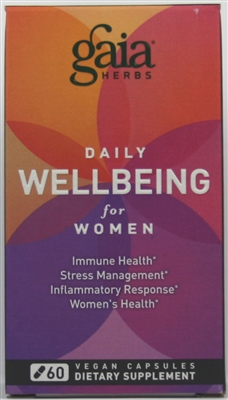 daily wellbeing for women-60 capsules