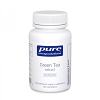 Pure Encapsulations Green Tea Extract 120 Caps