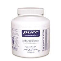 Pure Encapsulations OsteoBalance 210 Caps