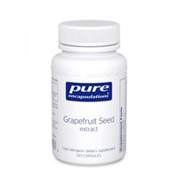 Pure Encapsulations Grapefruit Seed Extract 120 Caps