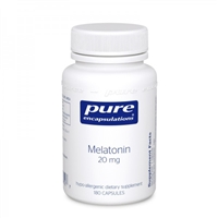 Pure Encapulations Melatonin 20 mg 180 Caps