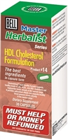 HDL Cholesterol Fomulation #14-30 Capsules