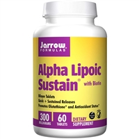 Alpha Lipoic Sustain with Biotin-60 Tablets