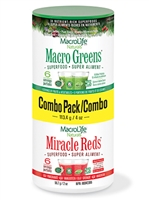 MacroLife Macro Greens/Miracle Reds Combo Pack
